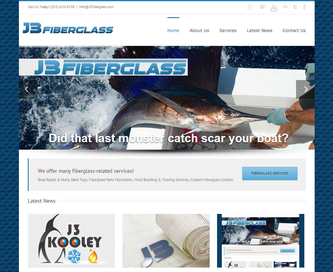 J3 Fiberglass - Fiberglass Repair & Fabrication in Florida