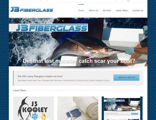 J3 Fiberglass website goes live!